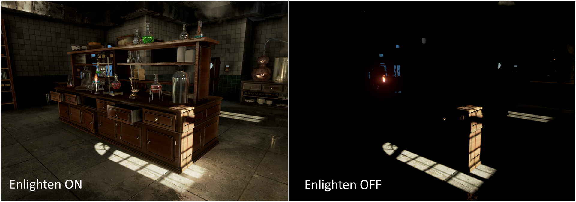 Enlighten for Unreal 4 version 17 now available
