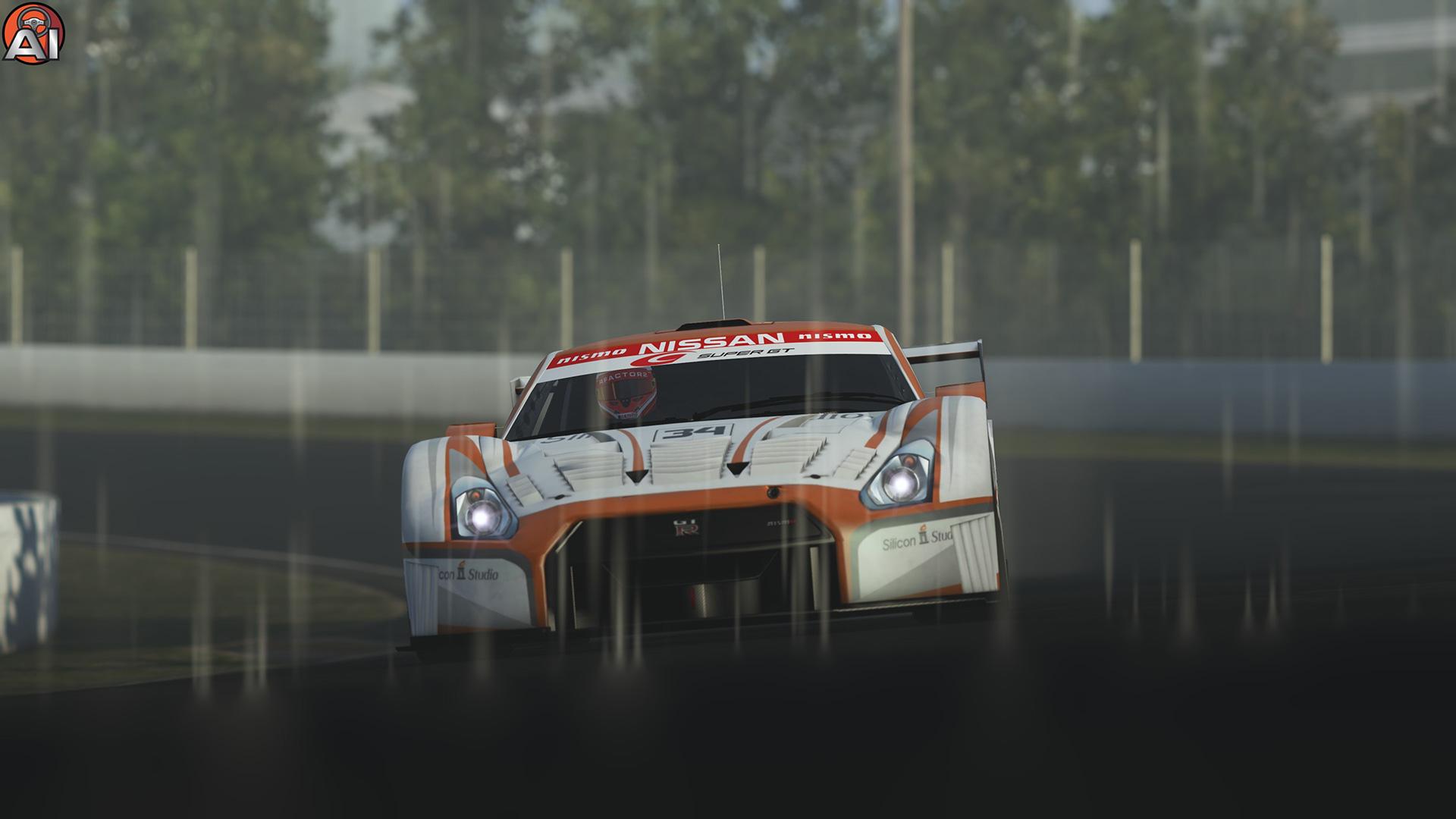 YEBIS post-effects integrated into groundbreaking racing simulator