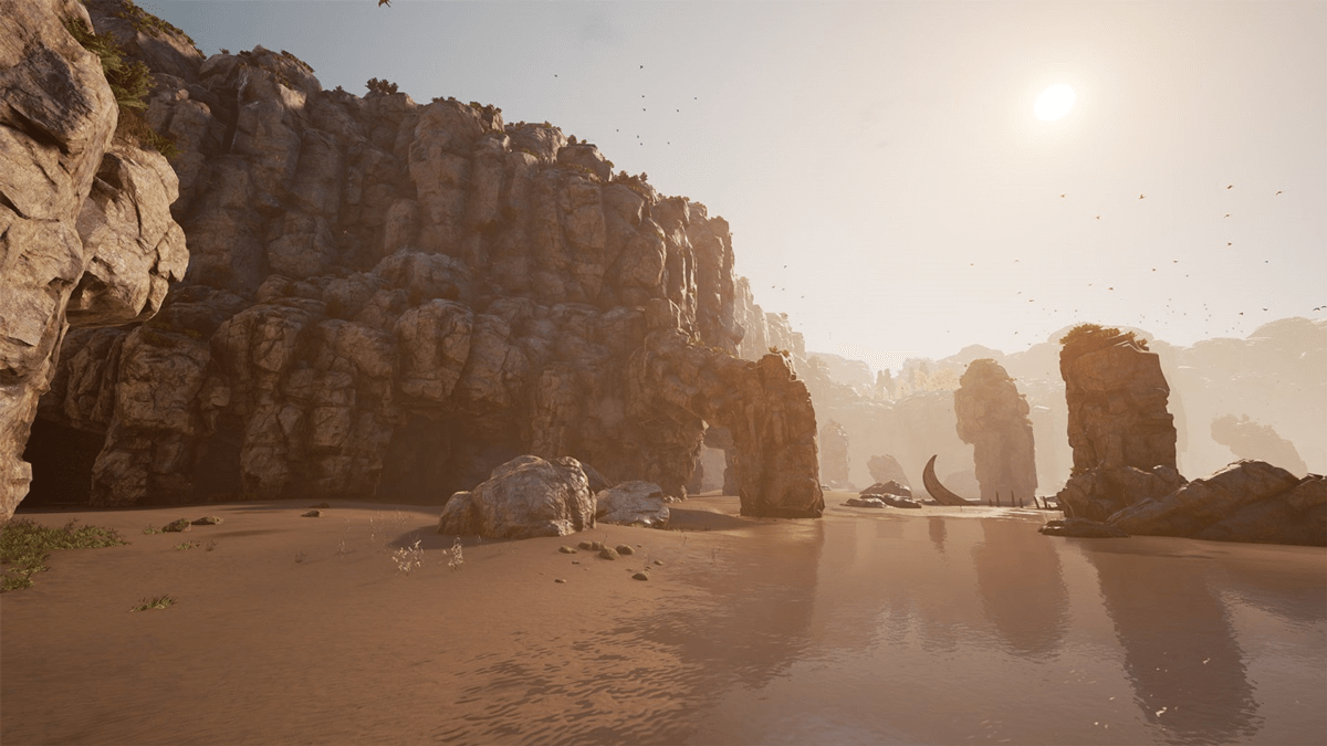 HDR version (Sea Stack Bay (Courtesy of Ninja Theory))