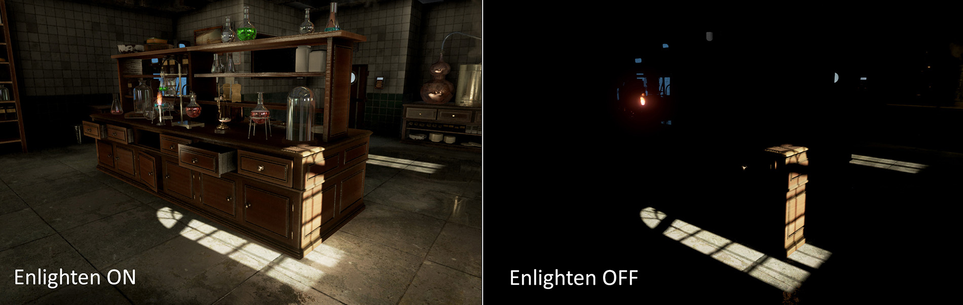 Real-time Global Illumination - Enlighten