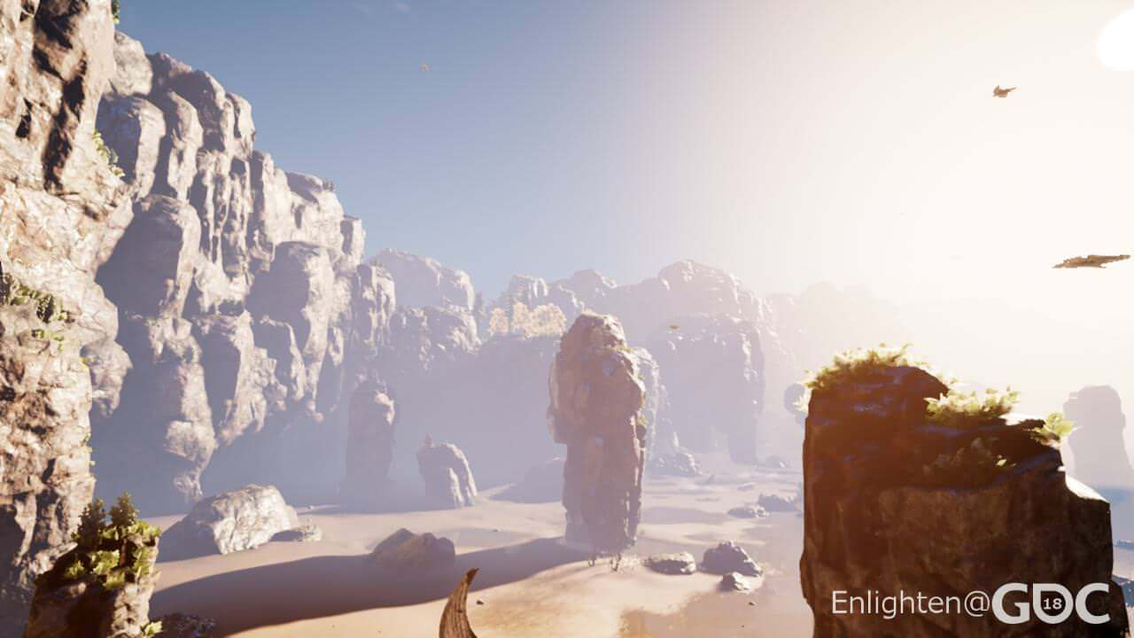 Using physically-based lighting values with Enlighten and UE4