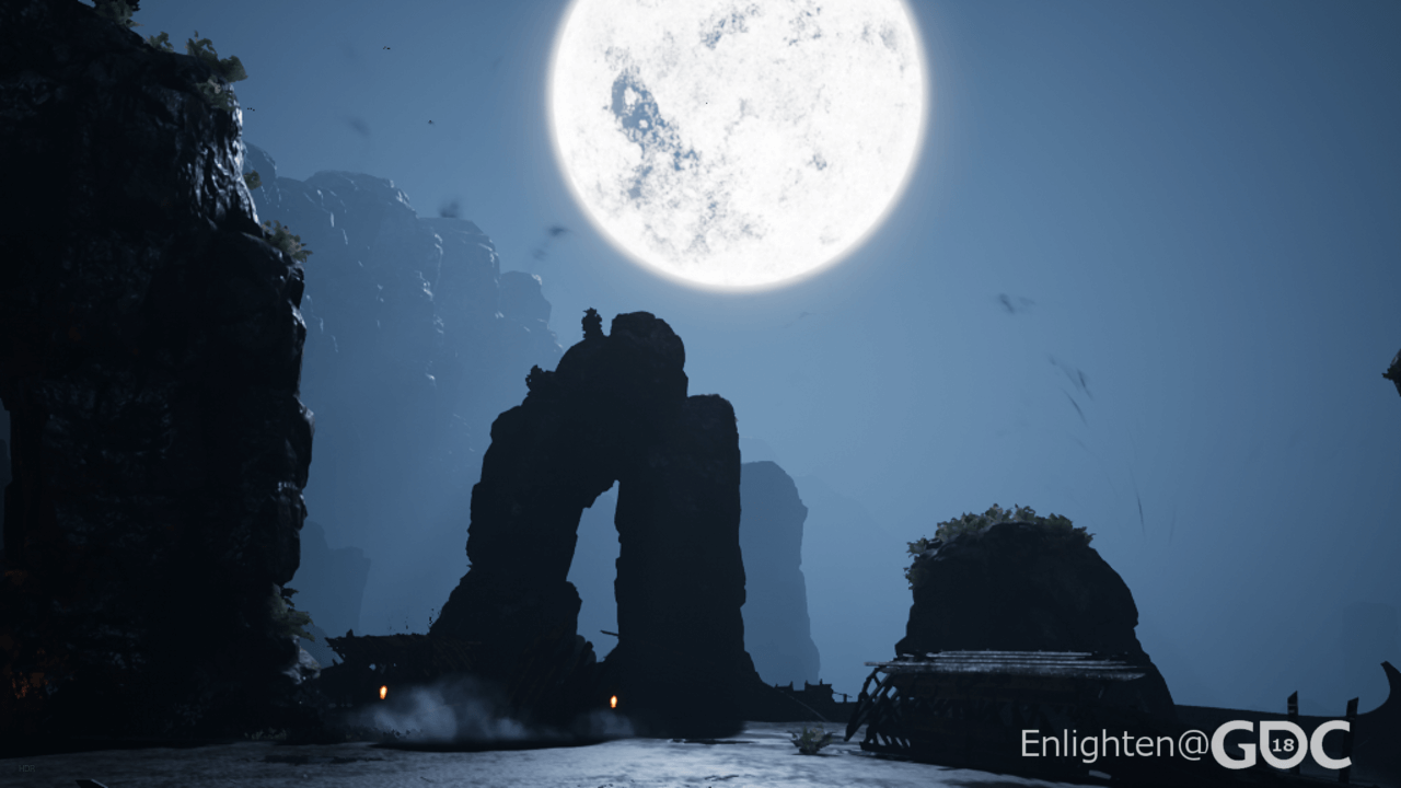 Using physically-based lighting values with Enlighten and